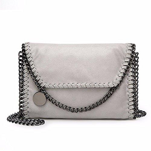 femmes chaîne clair femmes sac sac gris nouvelles occasionnel des sac épaule les la Cxq51Zw1