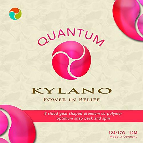 Kylano Quantum 17G Tennis String Set, Neon Coral ()