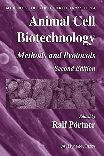 Animal Cell Biotechnology: Methods and Protocols (Methods in Biotechnology)