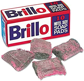 product image for Brillo : Steel Wool Soap Pad, 10/Box -:- Sold as 2 Packs of - 10 - / - Total of 20 Each