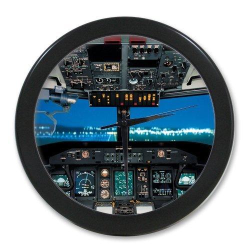 Aircraft / Airplane Cockpit Custom Elegant Wall Clock 100% - Custom Cockpit