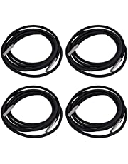 IMIKEYA 4pcs Chair Replacement Cord Chair Replacement Laces for Recliner Repair Tool Lounge Chair Bungee Chair Black