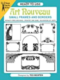 Ready-to-Use Art Nouveau Small Frames and Borders (Dover Clip Art Ready-to-Use)