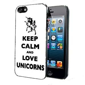 Keep Calm And Love Unicorns iPhone 4 4s Back Case