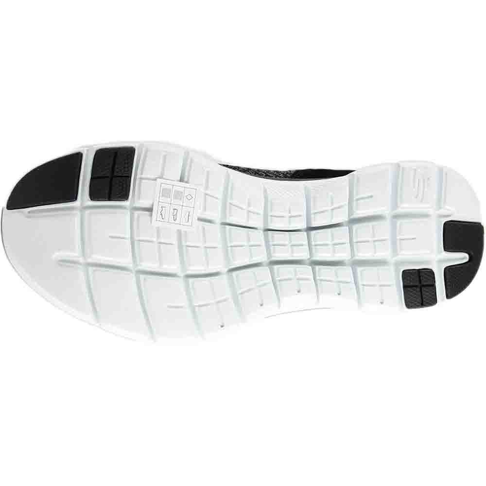 Skechers Women's Flex Appeal 2.0 Double Top Gore Slip on High Top Double Sneaker B01MUDSGEQ 10 B(M) US|Black a8ab33