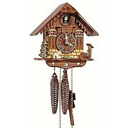 Schneider 8 Inch Black Forest Puppy Cuckoo Clock