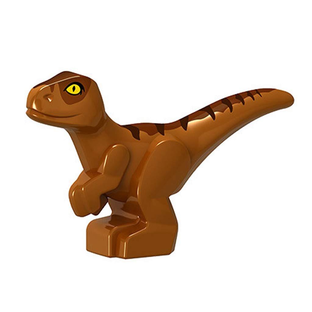 Kanzd Educational Simulated Dinosaur Model Kids Children Toy Tyrannosaurus Gift (Brown)