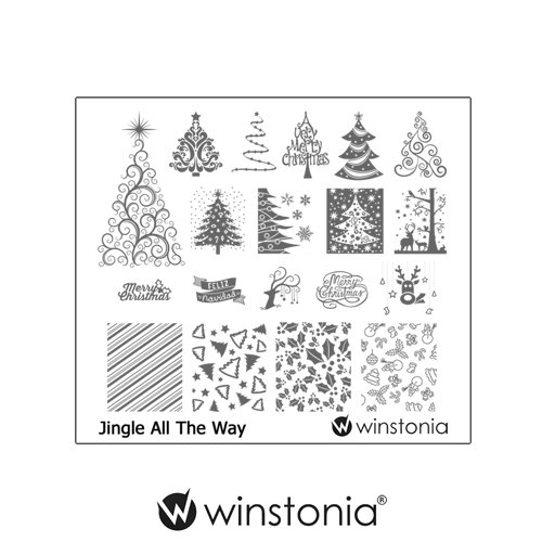 Winstonia Nail Stamping Image Plate product image
