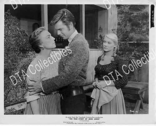 MOVIE PHOTO: THE TRUE STORY OF JESSE JAMES-1957-ROBERT WAGNER-STILL VG