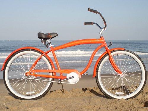 sixthreezero Men's In The Barrel Beach Cruiser Bicycle