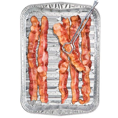 Bacon Disposable Cookware Pan Non Stick 3 Count