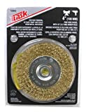 Task Tools T25643 1/2-Inch Fine Crimp Wire Wheel with 4-Inch Diameter
