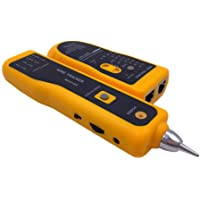 VEECOME LAN Ethernet Telephone Cable Toner Wire Tracker Tracking System & Tester Durable