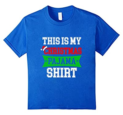 This is my Christmas Pajama Shirt Funny Christmas gift