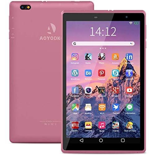Tablet 8 Pulgadas - Google Android 10.0 Certificado por Google GMS, Quad Core 3 GB RAM 32GB ROM/128GB, 800 * 1280 IPS 5000mAh, WiFi, Bluetooth (Rosado) a buen precio