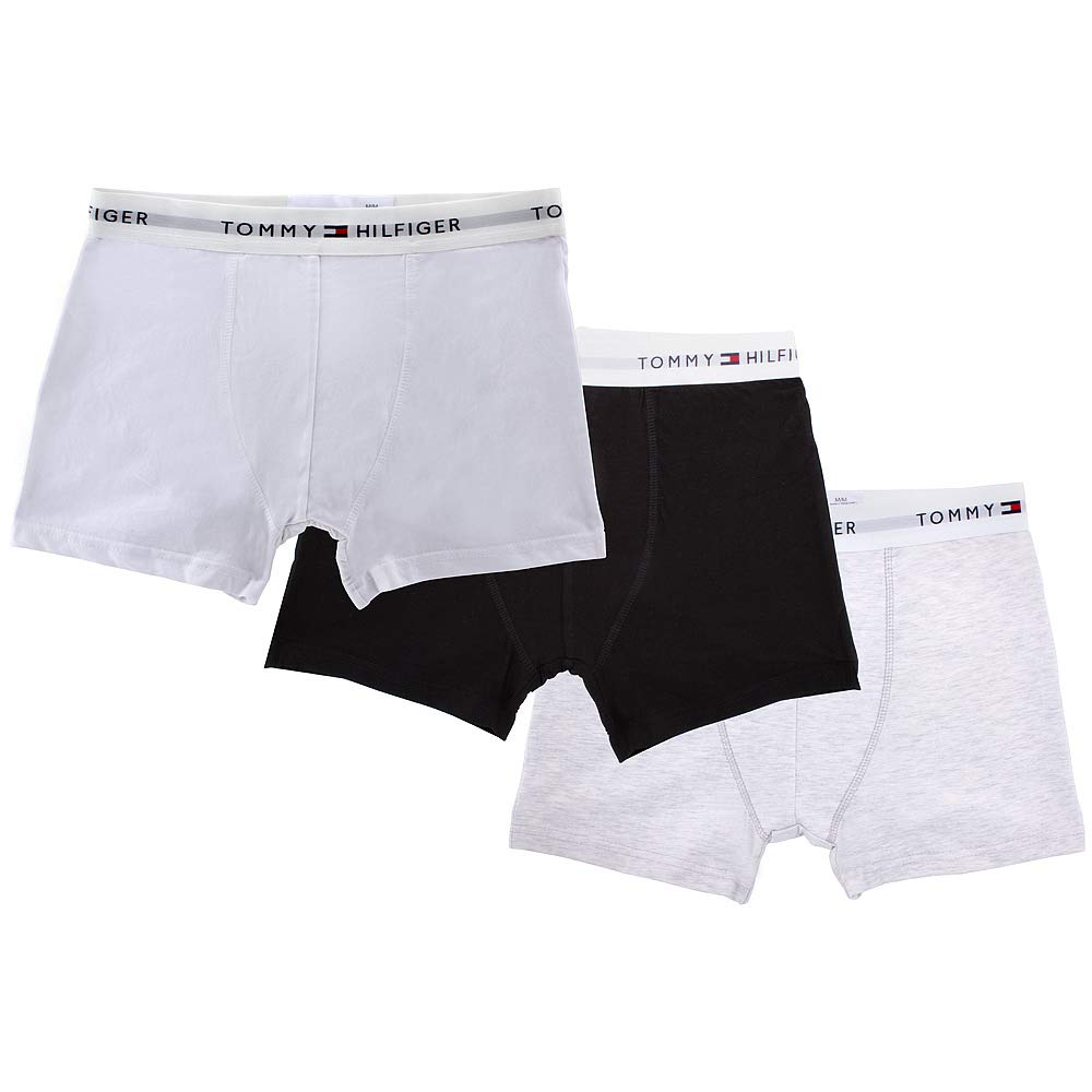Tommy Hilfiger Mens Underwear 3 Pack Cotton Classics Trunks