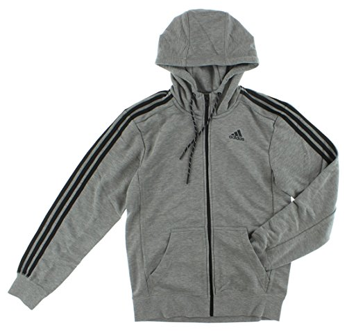 Adidas Mens Sport Essentials Hoodie Dark Grey XXL