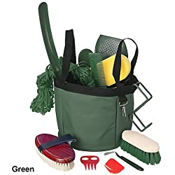 Tough 1 Show Time Groomers Set W/Tote Green