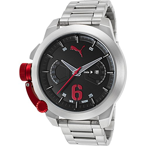 PUMA Unisex Advance Stainless Steel Watch