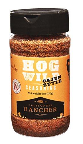 California Rancher's Hog Wild Cajun & Fajita Seasoning, 6oz