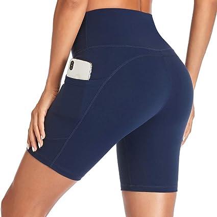 Dr Fashion Femmes Taille Haute Sport Gym Yoga Pantalon Running Fitness Leggings