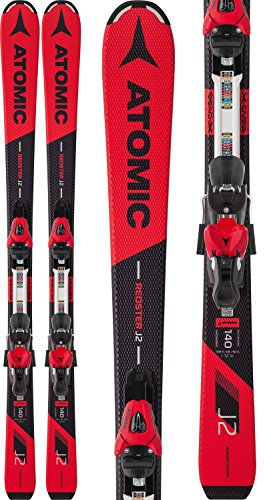 Atomic Redster J2 Skis w/L 7 ET Bindings Kids Sz 140cm