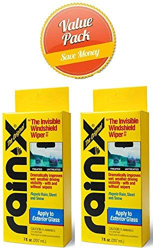 Rain-X 800002243 Glass Treatment- 7 fl oz. 2 pack