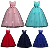 Girls Dresses Wanshop Princess Party Dress Tulle Wedding Bridesmaid Christening Perfect Birthday Formal