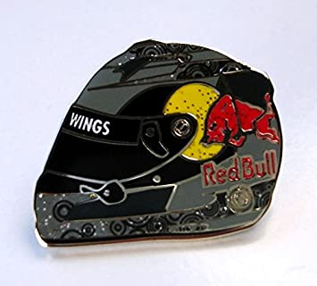 Red Bull Racing Fórmula 1 equipo F1 metal pin de casco