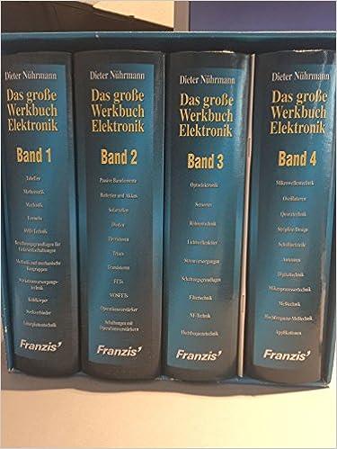 Das große Werkbuch Elektronik, 4 Bde.: Amazon.de: Dieter Nührmann ...