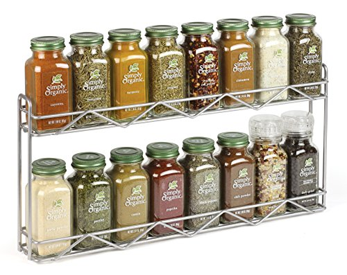 Organic Spice Rack Cool Amazon Simply Organic Filled Spice Rack 6060 Pound Grocery