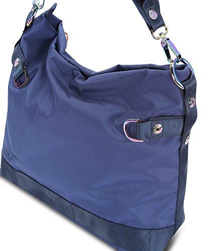 amp; 100 George cm Lucy spalla a Peaches Borsa Blue 32 Gina twwqCR