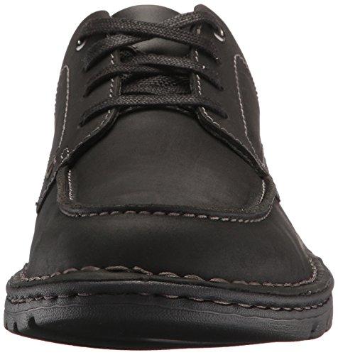 Delantal Para Hombre Clarks Vanek Oxford Black Leather