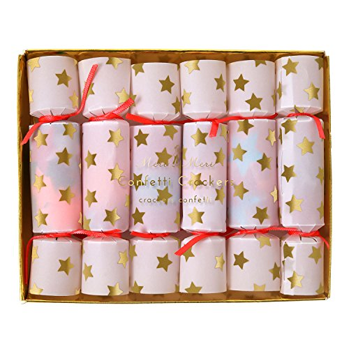 Meri Meri Tiny Confetti Crackers 45-2428, Set of (Halloween Party Crackers)