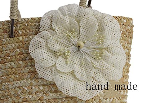 Handmade Bag Bag Straw Bag Straw Straw Handmade JXS Ladies' Beach Beach JXS Ladies' Handmade Handmade Bag On6fqnF
