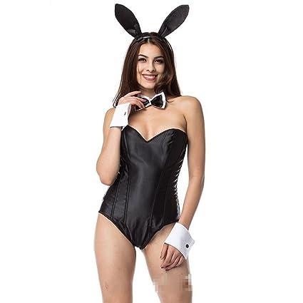 3780c3e2d71 Amazon.com : Lingerie For Women Sexy Corset Bunny Girl Outfit Bunny ...