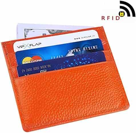 Best RFID Blocking Wallet Secure Protection for Men and Women, MaxGear Top Stainless Steel Metal Slim Wallet Credit Card Wallet
