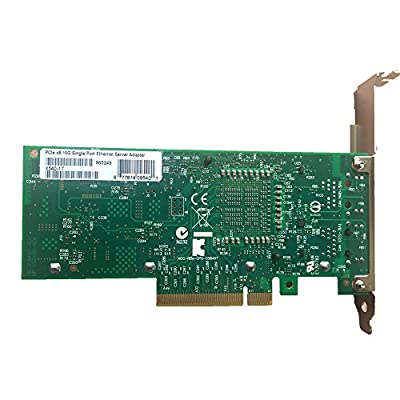 Macroreer for Intel X520-DA1 10Gb Ethernet Converged Network Adapter (NIC), Single SFP+ Port, PCI Express 2.0 X8, 82599ES Chipset