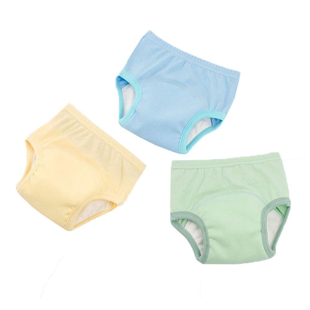 5T Toddler Boys Potty Training Pants Cotton Interlining Underwear Toddler 3-Pack