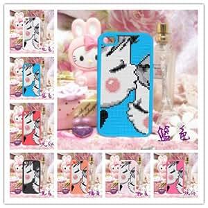DIY DMC cross stitch S1079 iphone 4 4S TPU case (Rose Red)