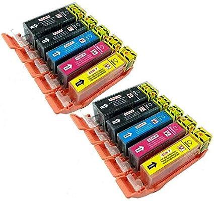Non OEM PGI-525 CLI-526 Confezione da 5 Cartucce Di Inchiostro Compatibili Per Canon Pixma MG5150