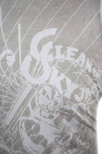 Diesel Herren Tanktop T-Shirt Top Tikedezzo Grau #1