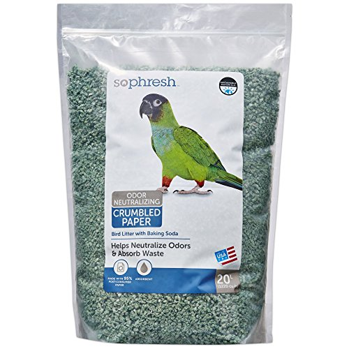 So Phresh 20L Paper Bird Litter, 20 L