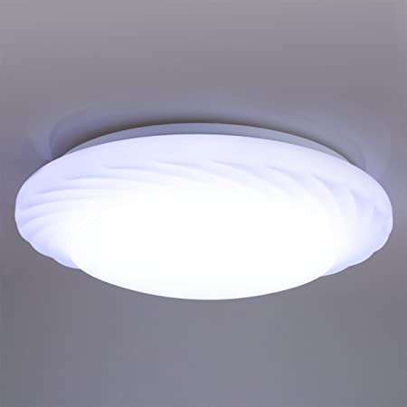 Lampwin 18w round led ceiling light7000k bright light1600 lumensround flush