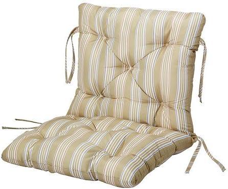 Cuscini Per Sedie Giardino Ikea.Ikea Saro Sedile Cuscino Per La Schiena Outdoor Beige 86 X