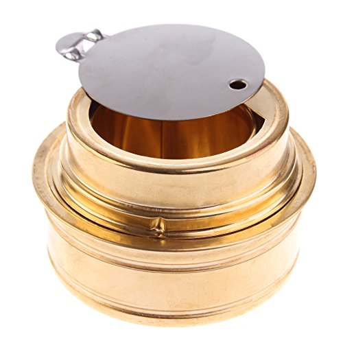 PMLAND Compact Alcohol Burner- Spirit Alcohol Stove for Backpacking, Camping, and Hiking by (Best Alcohol For Camping)