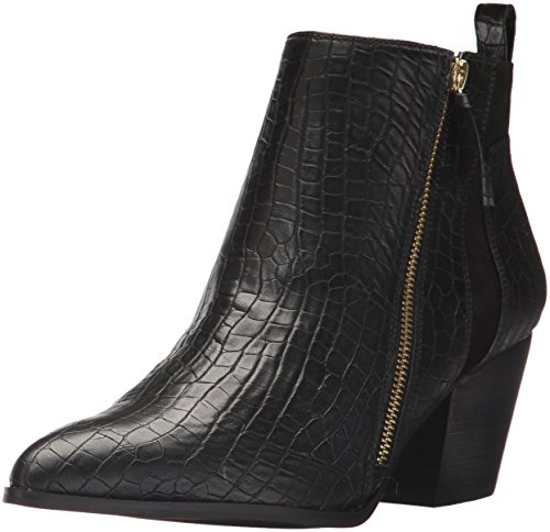 Bella Vita Womens Everest II Ankle Bootie Black Crocodile ilvTIkXPZ