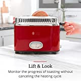 Russell Hobbs 2-Slice Retro Style Toaster, Red