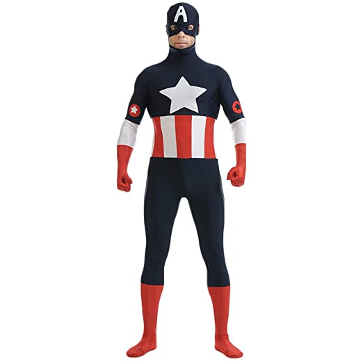 QWEASZER Captain America:The First Avenger Traje del ...