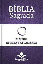 Bíblia Sagrada RA - Almeida Revista e Atualizada: Com notas, referências cruzadas e palavras de Jesus em verme
